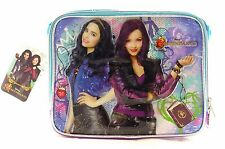 "Disney Descendants 9.5"" Canvas Blue & Purple Insulated Lunch Bag"