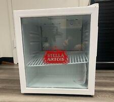 Stella Artois Countertop Fridge Brand New Mini Fridge With Box White & Red