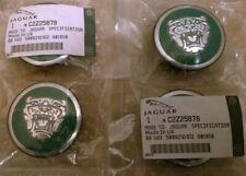 Jaguar XF, XK, XJ, XJ8, XK8, XKR, X & S Type Green Center Caps
