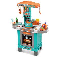 Spielküche mit Licht und Sound Kindergeschirr für Kinder Teekessel Kinderküche