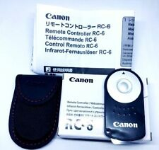 CANON RC-6 Wireless Remote Control for EOS 500D 550D 600D 650D 700D 750D 760D UK