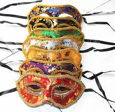Unisex 12pcs Pack of Mardi Masquerade Party Fantasy Masks weddings Halloween