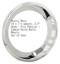 "14"" Pontiac Trans Am Firebird Ralley Rally II Wheels trim rings"