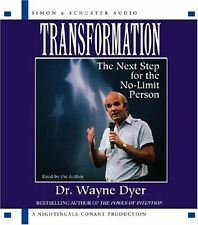 TRANSFORMATION: Next Step for the No-Limit Person - Dr. Wayne Dyer . CD .. NEW