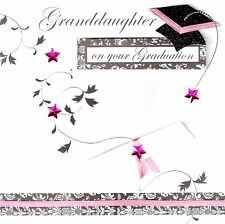 Granddaughter On Your Graduation Congratulations Greeting Card Handcrafted Cards