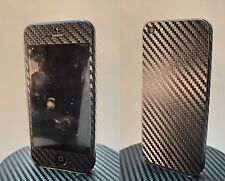 iPhone 5 3M 3D Black Carbon Fiber Full Body Skin sticker