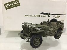 Franklin/Danbury Mint Segunda Guerra Mundial Willys Jeep 1:16