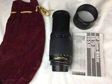 AF Nikkor 70-300mm f/4-5.6 D  Nikon ED (non VR) zoom lens pre-owned