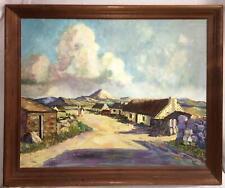Nerine Constantia DESMOND (1908-1993) South African Landscape Oil on Board