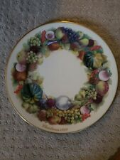 "Lenox Colonial Christmas Wreath Issue Collectible Plate ""New York"" Preowned 1989"
