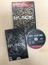 Black (Sony PlayStation 2, PS2, 2006, Greatest Hits) *COMPLETE* SHIPS FREE