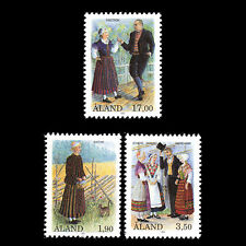 Aland 1993 - National Costumes - Sc 75/7 MNH