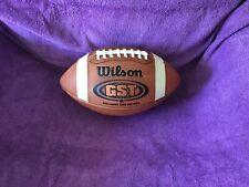 Wilson GST game ball. Razorback logo