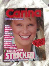 CARINA Fertigschnitt Nr.  3 / 1983 Handarbeitsheft Zeitschrift Schnittmuster
