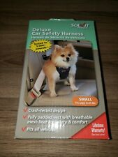 New listing Dog Car Safety Harness Small 6-25 lbs - Solvit Deluxe Seat Belt