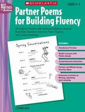 Partner Poems for Building Fluency: 25 Original Poems With Research-Based Lesson