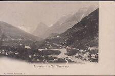 Svizzera . Acquarossa e Val Blenio Sup., viaggiata.