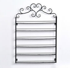 Iron Wall Shelf small bottles nail polish rack essential oils makeup organizer