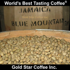 10 lbs - 100% Jamaica Blue Mountain Peaberry Coffee Green Beans - Home Roasting