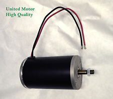 1 hp DC 120 volt permanent magnet electric motor / generator 800 Watt 12mm shaft