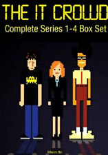 DVD:THE IT CROWD - SERIES 1 TO 4 COMPLETE BOXSET - NEW Region 2 UK