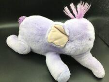 "Disney Store Exclusive Purple Lumpy Heffalump Elephant Winnie the Pooh Plush 14"""