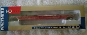 NIB. WALTHERS HO NSC Red 53' Well Car. 932-60504