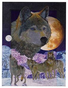 """Dufex Foil Picture Print - Blue Moon - size 6"""" x 8"""""""
