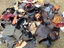 5KG Bag  Quality Leather Arts & Crafts,Off Cuts,Scrap,Remnants mixed