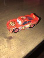 Disney Pixar Cars Original Lightning Mcqueen 1:55 Scale Die Cast Car (5)#