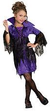Gr. M  5-7 Jahre Vampir Hexe Kinder Mädchen Halloween Karneval Kostüm 109968