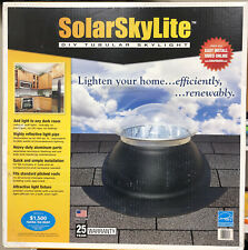 10 in. Tubular Skylight Pitched Kit with Acrylic Dome, Diffuser and Light Tube