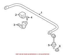 For BMW Genuine Suspension Stabilizer Bar Rear 33506770339