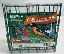 Birdola Cake Feeder Junior With Fold-Down Perches NIP Bird Feeder 6 Available