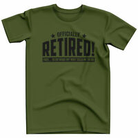 Funny Retirement T Shirt for Men Gifts Husband Anniversary Tshirt Retired Mens