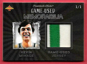 2020 Kevin McHale President's Choice Solitaire 1/1 Jersey Relic - Boston Celtics
