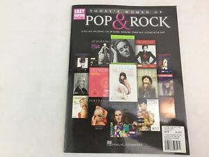 Today's Women Of Pop & Rock -  Easy Guitar Notes & Tab - Music Book - (C)