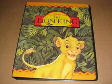 Lion King Trading Card Binder Album