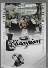 10/11 Certified Champions Martin St. Louis /500 17 Lightning