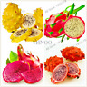 100 PCS Seeds Sweet Dragon Fruit Pitaya Plants Flores Garden Perennial Bonsai V