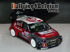 1/43 IXO Citroen C3 WRC #11 Rally Tour de Corse 2018 Loeb RAM672