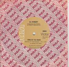 AL STEWART Song On The Radio / A Man For All Seasons 45