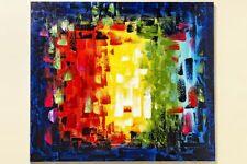 Abstrakte Deko-wandbilder mit Malerein & Zeichnungen