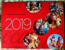 "The Official 2019 Coca-Cola Calendar 12"" x 9"" Large Date Grid"