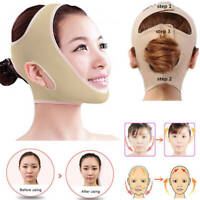 V Linie Gesicht Wange Lift Up Maske Anti-Falten Chin Abnehmen Schlaf-Gürtel Band