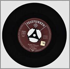 """THE WAIKIKIS """"Hawaii Tattoo + Waikiki welcome"""" Vinyl-Single 1961 Telefunken"""