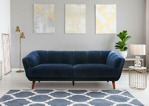 Contemporary Hand Crafted Fabric SOFA Living Room Furniture Blake Sofa