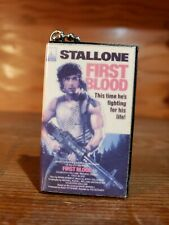 Rambo First Blood 80s VHS  Blu Ray  classic movie  Keychain