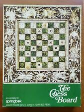 1975 Springbok THE CHESS BOARD Puzzle NM-MT 500 Pieces VINTAGE Complete