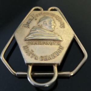 Dom Perignon Champagne Money Clip Paper Clip Vintage Rare 1960s  PINCE A BILLETS